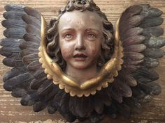 Pair of Carved Putti Cherubs Angels 19th Century by AlpenAntiks on Etsy https://www.etsy.com/listing/387118074/pair-of-carved-putti-cherubs-angels-19th