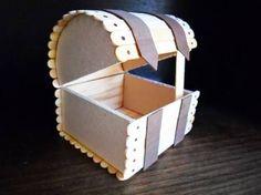 artesanato com palito de picolé - Buscar con Google
