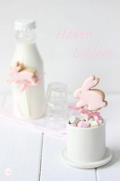 Lisbeths Cupcakes Butterkeke Hasen {Hasen Lollies}