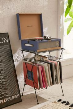 Shop Metal Vinyl Storage Shelf at Urban Outfitters today. We carry all the latest styles, colors and brands for you to choose from right here.