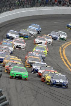 Someday, I would like to attend Speed Weeks at Daytona Speedway. I would love to have a hot pass watching the cars as they are coming in and out of their garages.