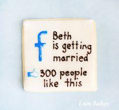 I love the facebook idea, lol.