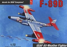Hobby Craft 1/72 F-89D USAF All-Weather Fighter
