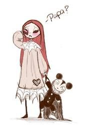 DarkmatterNova - Hobbyist, Digital Artist | DeviantArt Nightmare Before Christmas Pictures, Mal And Evie, Pen Doodles, Sally Nightmare, Xmas Pictures, Jack And Sally, Fall Family, Disney And Dreamworks, Christmas Art