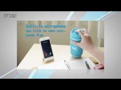 ▶ LEPA BTS02 Bluetooth speaker - YouTube