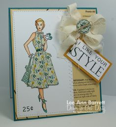 Vintage Style by whippetgirl - Cards and Paper Crafts at Splitcoaststampers