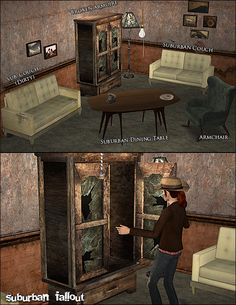 ghanima_atreides | Fallout Object Dump - A whole bunch of Fallout conversions + Bonus! The Sims 2, Sims 4, Working Class, Conversation, Objects, Post Apocalyptic, Fallout