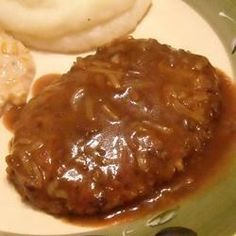 My Country Style Steak-My Country Style Steak A simple and easy recipe for cube. My Country Style Steak-My Country Style Steak A simple and easy recipe for cube steak that can easily be stretched to Meat Recipes, Cooking Recipes, Cuban Recipes, Beef Cube Steak Recipes, Crockpot Recipes, Minute Steak Recipes, Easy Steak Recipes, Dinner Recipes, Beef Meals