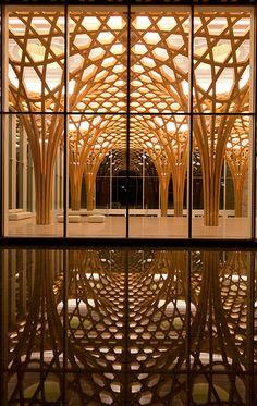 Shigeru Ban | The Pritzker Architecture Prize 2014 Haesley Bridges Golf Club House, Korea, 2010