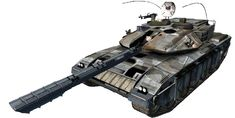 Future War Stories: FWS Topics: THE TANK