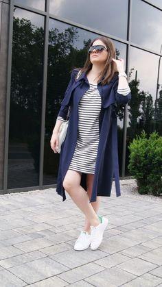 my point my style: Striped Dress