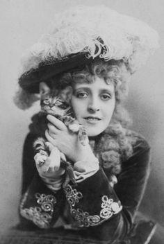 Phyllis Broughton, 1890′s.