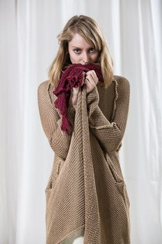 Hey, I found this really awesome Etsy listing at https://www.etsy.com/listing/122657464/long-beige-knitted-sweaternatural
