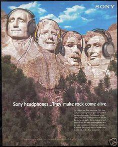 Sony Headphones- They make rock come alive