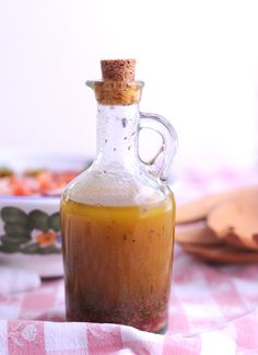 Perfect Olive Oil Dressing (for the Perfect Chopped Salad) - No sugar added.