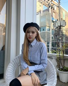 rosé rosie roseanne park aussie park Chanyoung chae rosie aesthetics aesthetic cute soft pastel blackpink black pink yg gg kpop korean korea 블랙핑크 r o s i e Blackpink Fashion, Korean Fashion, South Korean Girls, Korean Girl Groups, K Pop, Blackpink Outfits, Foto Rose, 1 Rose, Girly
