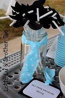 Mustache Party...straws