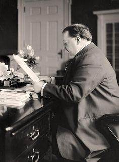 William H. Taft - 27th President of the United States.