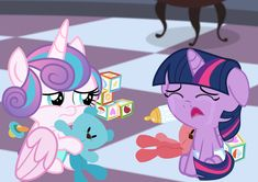 Flurry Heart, Baby Pony, Age Regression, Twilight Sparkle, Baby Bottles, My Little Pony, Crying, Friendship, Childhood