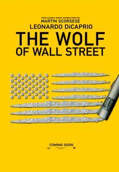 """Cartel de prueba """"The Wolf of Wall Street"""""""