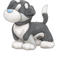 Carte Blanche - My Blue Nose Friends - Alpine the Bernese Mountain Dog