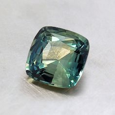 6mm Green Cushion Sapphire from Brilliant Earth