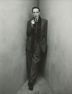 Irving Penn  American, 1917–2009  Marcel Duchamp, New York, April 30, 1948, printed 1984