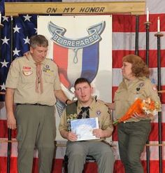 First Scout from special needs troop receives Eagle honors