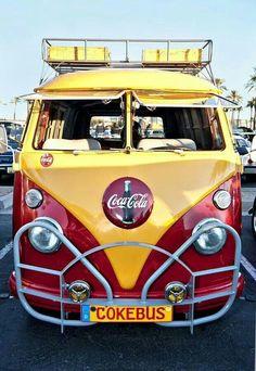 VW Cokebus #volkswagen #combi #caravane #remorque #trailer : http://remorques-discount.com/