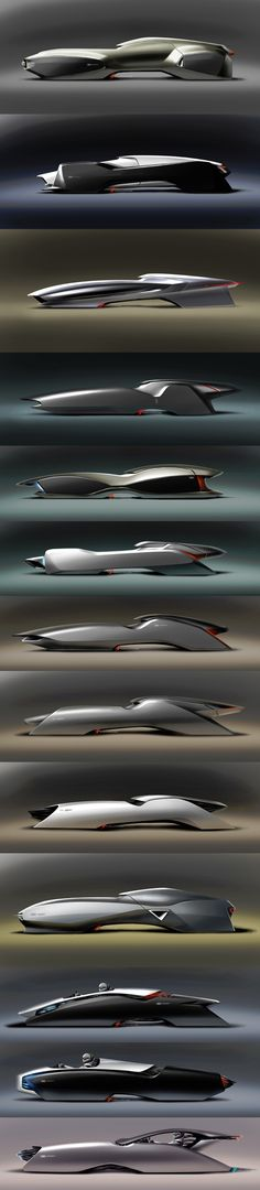 Incredible display of Audi Form Studies by Hussein Al-Attar http://www.behance.net/hussein