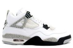 Air Jordan 4 (IV) Retro 1999 - White / Black (Cement)