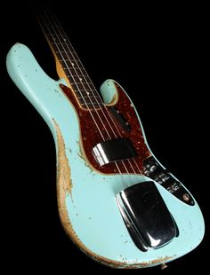 Fender Custom Shop '64 Jazz Bass Heavy Relic Daphne Blue