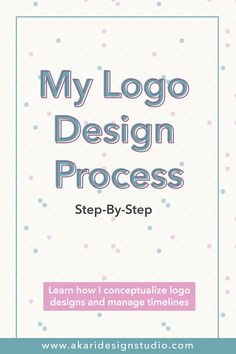 My Brand Logo Design Process