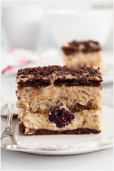 Chałwowiec bez pieczenia - I Love Bake No Bake Desserts, Dessert Recipes, Breakfast Menu, Cake Bars, Sugar Rush, Food For Thought, Tiramisu, Catering, Ale