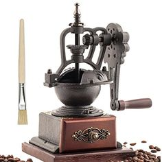 Hand cast Retro coffee grinder grinding machine manually Province * To view further for this item, visit the image link.
