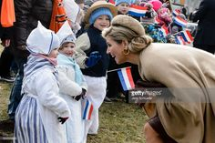 Queen Maxima of the Netherlands visits the castle Oranienbaum on February 10, 2017 in Oranienbaum, Germany. The royal couple will pay a working visiting from February 7 to 10 to the German Bundeslaender Thuringia, Saxony and Saxony-Anhalt in order to deepen trade and investment relations and promote cooperation in high-tech systems, chemicals and flood protection sectors. (Photo by Jens Schlueter/Getty Images)