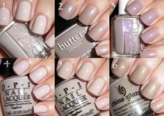 6 Nail Polishes for a Conservative Work