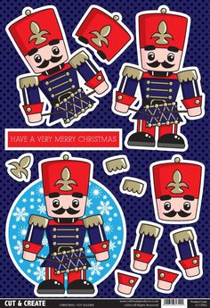 Buzzcraft Christmas Cut & Create - Toy Soldier