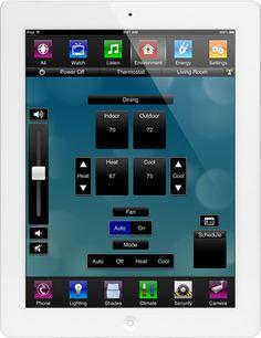 Apple iPad Home Automation