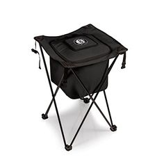 NBA Brooklyn Nets Sidekick Insulated Portable Cooler with Integrated Legs >>> Check this awesome product by going to the link at the image.
