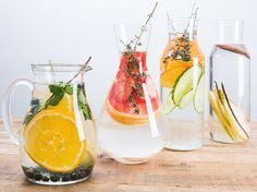 DIY-Anleitung: Wasser mit Früchten aromatisieren – 4 Rezepte via DaWanda.com