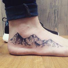 30 Epic Mountain Tattoo Ideas #NeatTattoosIWouldHave