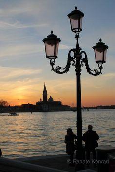 Sonnenuntergang Venice