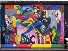 Sonic Malade by Greta Csatlòs, East Side Gallery, Mühlenstraße, Berlin