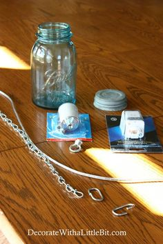 DIY Vintage Canning Mason Jar Pendant Lights | remodelaholic.com #tutorial #diy #pendantlight #vintage #masonjar @Remodelaholic .com .com