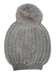 Best price on the market at italist.com Moncler  Grey  HATS.
