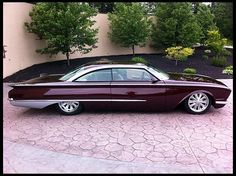 1960 Ford Foose Custom Starliner, 583 HP, 5-Speed one of my favorite Fords