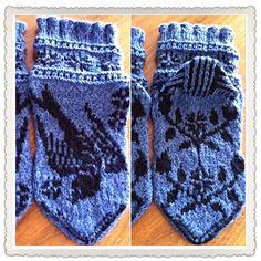 Pääsky -sukka suloinen... / sweet swallow-socks