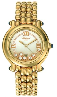 Chopard Happy Sport Classic Round 7 Floating Diamonds 276137-0013