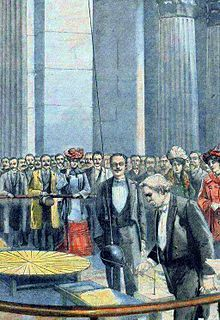 Foucault pendulum - Wikipedia, the free encyclopedia